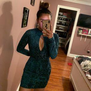 Blue soft dress